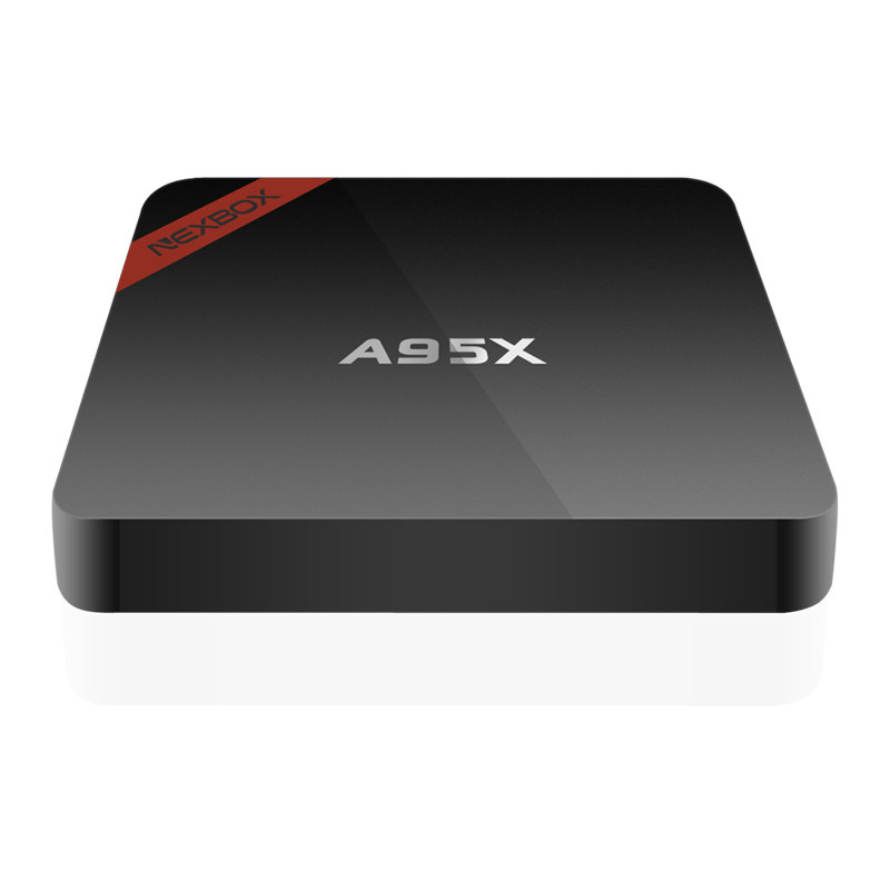 Newest Amlogic S905X TV Box A95X Nexbox Android 6.0 Box 1G/8G Quad core 2.4G Wifi KODI 16.1 Smart Media Player with Learn Remote