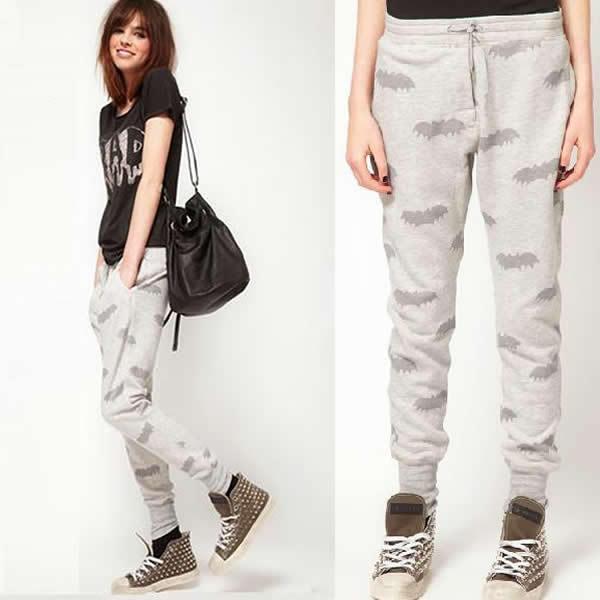 Cool High Waist 2014 Cross Pant Drop Crotch Pants Women Baggy Pants Hip Hop