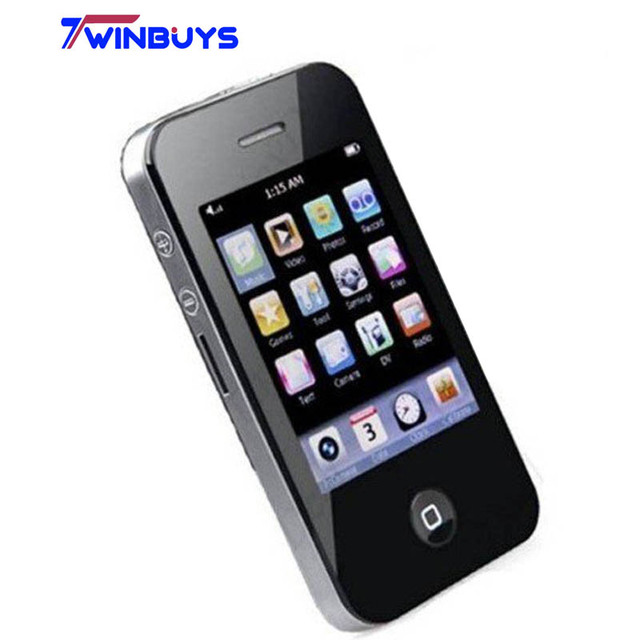 """New 2.8"""" 8GB Touch Screen I9 4G Style Mp3 Mp4 MP5 Player Camera Game Video"""