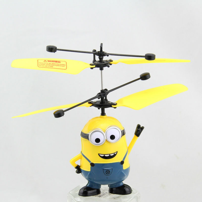 Flying Toys For Boys : Diy flying despicable me toys with light dolls for girls