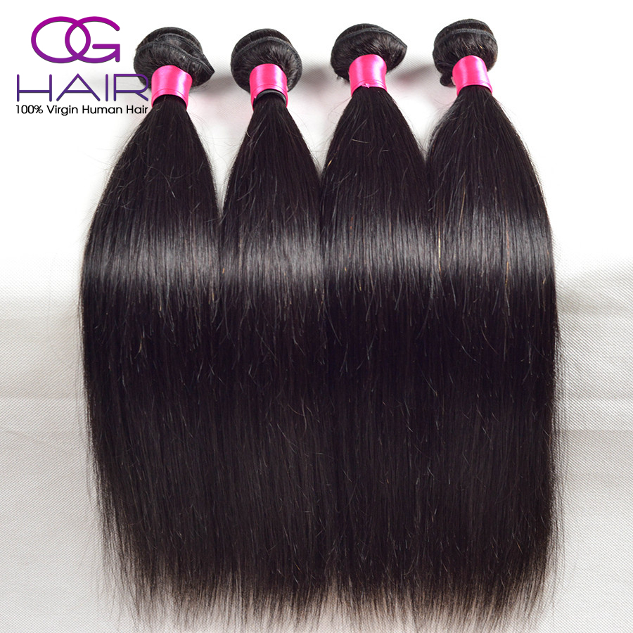 7a Brazilian Virgin Hair Straight Cheap Brazilian Hair 4 Bundles Queen Weave Beauty Brazilian Straight Hair 100 Human Hair Weave