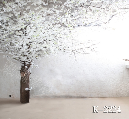 10x10ft vinyl photography backdrop vinyl backdrops for photography vintage photography background tree and white flowers k-2224<br><br>Aliexpress
