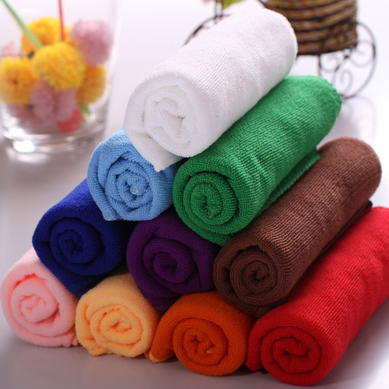 8 colors/lot microfiber luxury bath towel micro fibre cloths(China (Mainland))