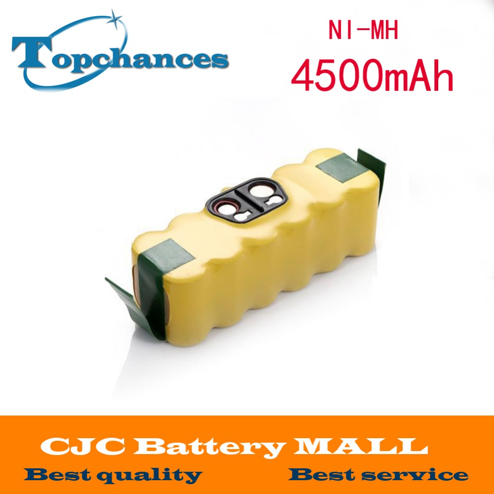 14.4V 4500mAh Ni-MH Battery for iRobot Roomba Vacuum Cleaner for 500 560 530 510 562 550 570 581 610 650 790 780 532 760 770(China (Mainland))