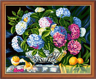 Diy digital oil painting hand painting oil painting 40 50cm
