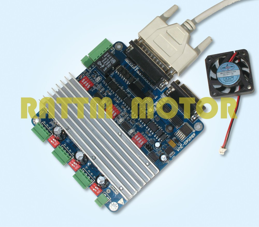 3 Axis Cnc Controller Tb6560 Stepper Motor Driver Board H