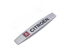 2pcs Auto Emblem Badge Decal Sticker Cars Side Fender Metal stikcers For Citroen c3 c4 xsara picasso car accessories(China (Mainland))