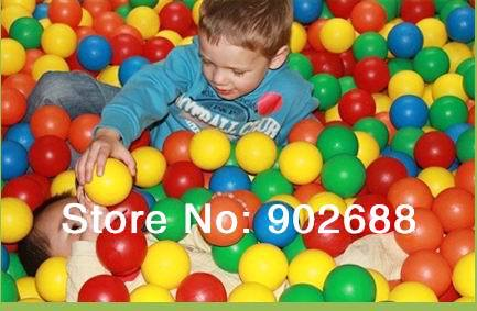Free shipping PE ball,plastic ball,bobo ball,58mm ocean ball for inflatable bouncer,bounce house,inflatable pool(China (Mainland))