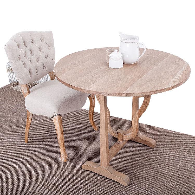 Круглый маленький стол