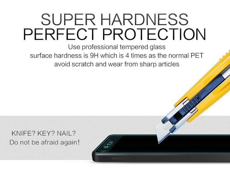 2.5D 0.3mm 9H Premium Tempered Glass for Xiaomi Redmi 2 / Redmi Note 2 Note 3 / Mi3 / Mi4 Mi5 Phone Screen Protector Film