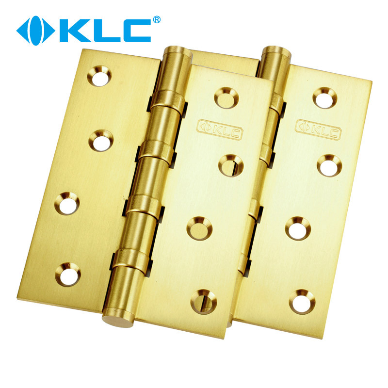 Germany KLC copper and gold copper door Villa door hinge bearing mute hinge two loaded(China (Mainland))