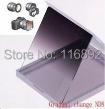 Gradual ND8 lens filter for Cokin P free shipping(China (Mainland))