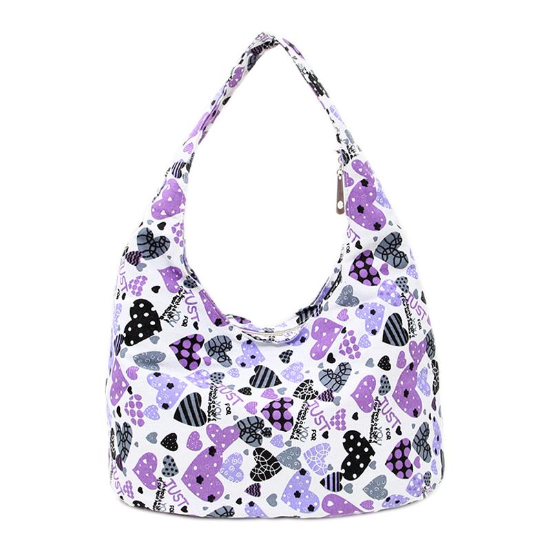 Canvas Bags 2015 New Casual Hobos Handbag Women Fashion Floral Print Canvas Shoulder Bag Big Female Messenger Bags(China (Mainland))
