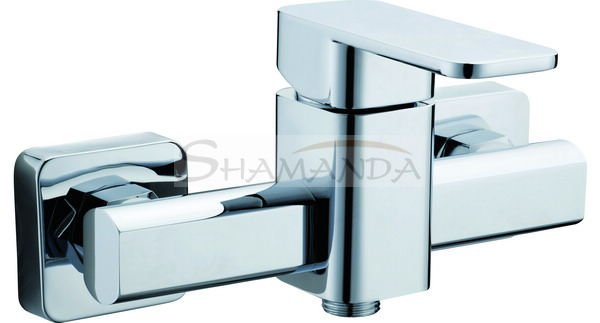 Free Shipping Promotions Shower Faucet In-Wall Bathroom Luxury Mixing Tap Chrome High-grade 1208 [5 years warranty]