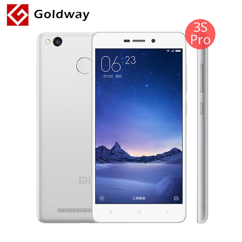 "Original Xiaomi Redmi 3S Pro Prime 3GB RAM 32GB ROM Mobile Phone 4100mAh Fingerprint ID Snapdragon 430 Octa Core 5"" 13MP Camera(Hong Kong)"