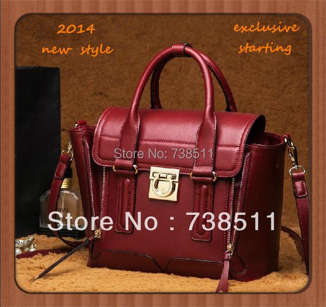 2014 women messenger bag first layer of cowhide bags genuine leather women handbag tassels shoulder bolsas new style wings bags<br><br>Aliexpress
