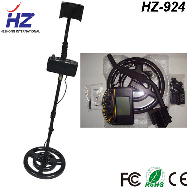 Free shipping 3.5 inch display gold metal detector long range HZ-924(China (Mainland))