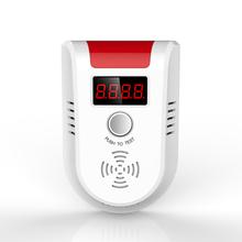 Из светодиодов цифровой дисплей газ сжиженный газ утечки бытовые детектор монитор KERUI датчик сигнализации 1 шт. бесплатная доставка
