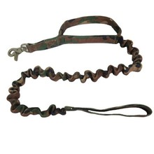 US Army Tactical Elastic Dog Leash Military 1000D Bungee Nylon Belt Adjustable Heavy Duty Panic Snap Spring Outdoor Hunting(China (Mainland))