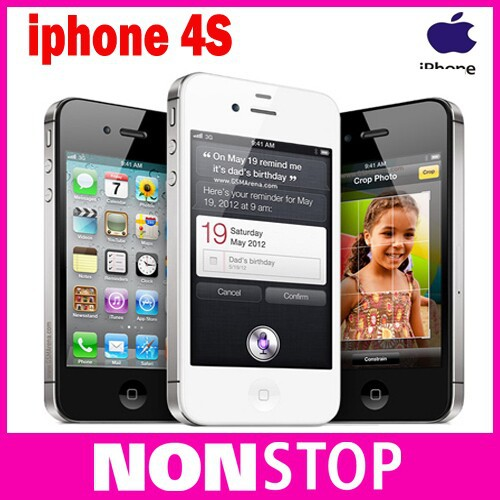 iPhone4s Original Apple iPhone 4S ISO 8GPS WIFI 16GB/32GB/64GB storage 3.5 inch Screen Dual Core mobile Phone(China (Mainland))