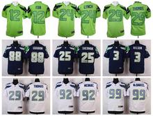 100% Stitiched,Seattle Seahawk,Marshawn Lynch,Richard Sherman,Kam Chancellor,Russell Wilsons,Jimmy Graham,Earl Thomas(China (Mainland))