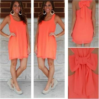 Женское летнее повседневное пляжное платье, большие размеры, модель 2015 г.
