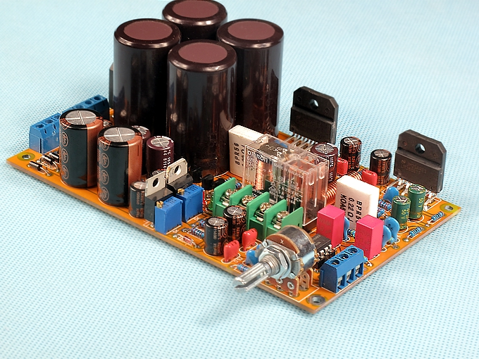 Fractions around LM3886 amplifier board (Separate power supply)(China (Mainland))