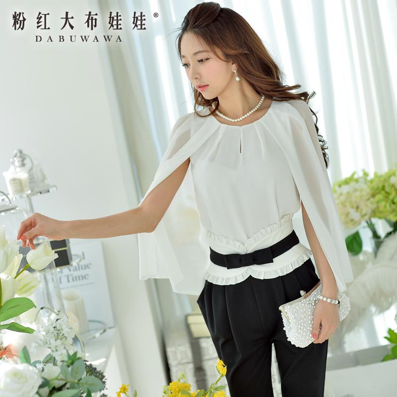 dabuwawa original new fashion 2015 brand women's ladies shawls cape shirts women wholesale(China (Mainland))