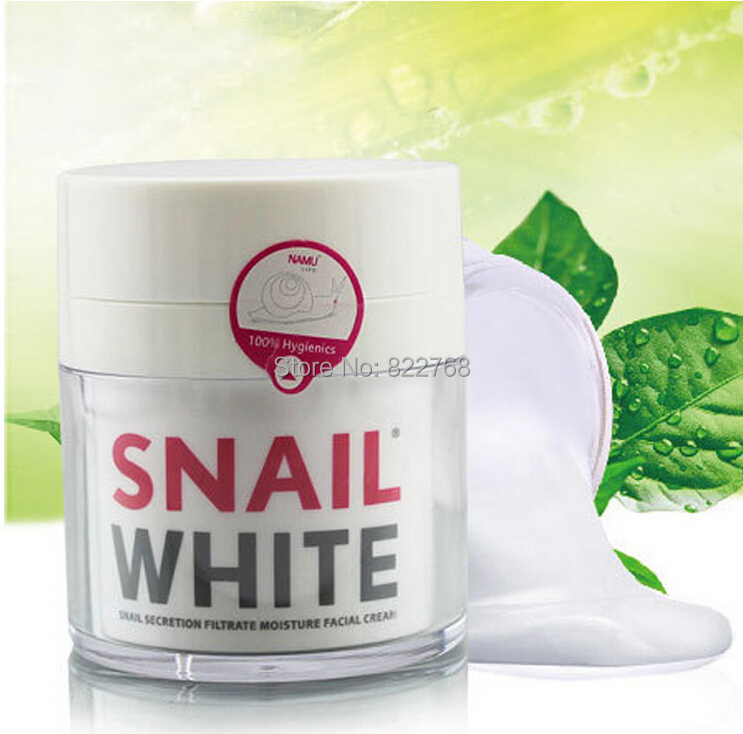 Hot Thailand Brand new Snail White NAMU Face cream Anti-Aging whitening moisturizing SKIN REGENERATE RECOVERY & MOISTURIZER - 101 Hair Care Store store
