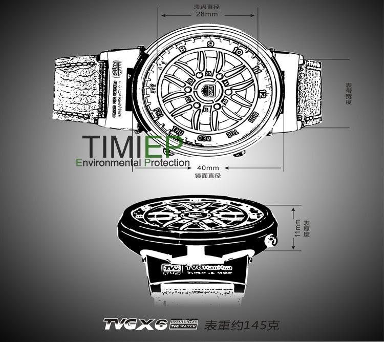 Pride New Design LED Binary Men's Sport Watches X6 Waterproof Wholesale China flash(China (Mainland))