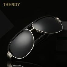 2016 New Alloy Frame Polarized Sunglasses Men's Driver Sunglass Outdoor Sports Glasses Z-2128