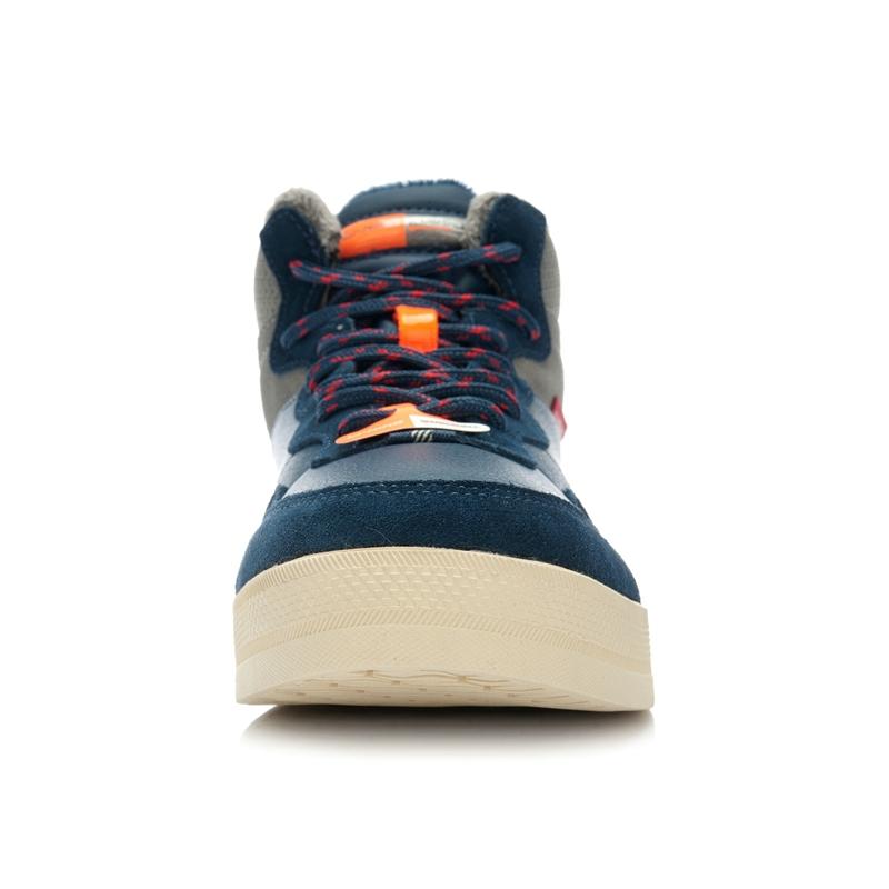 100% оригинальные накладки мужская скейтбордингом обувь alaj071-1 высокого помощь кроссовки бесплатная доставка
