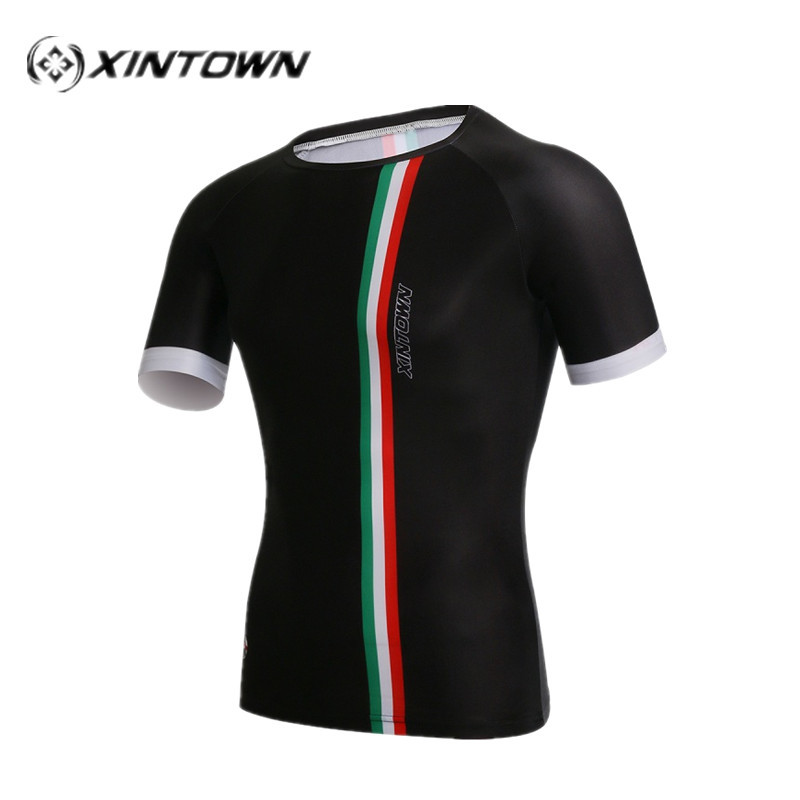 XINTOWN Italy Soccer Jersey Short Sports Shirts Men's Running Cycling T-Shirts Quick Dry Short Sleeve Jersey Cycling jerseys(China (Mainland))
