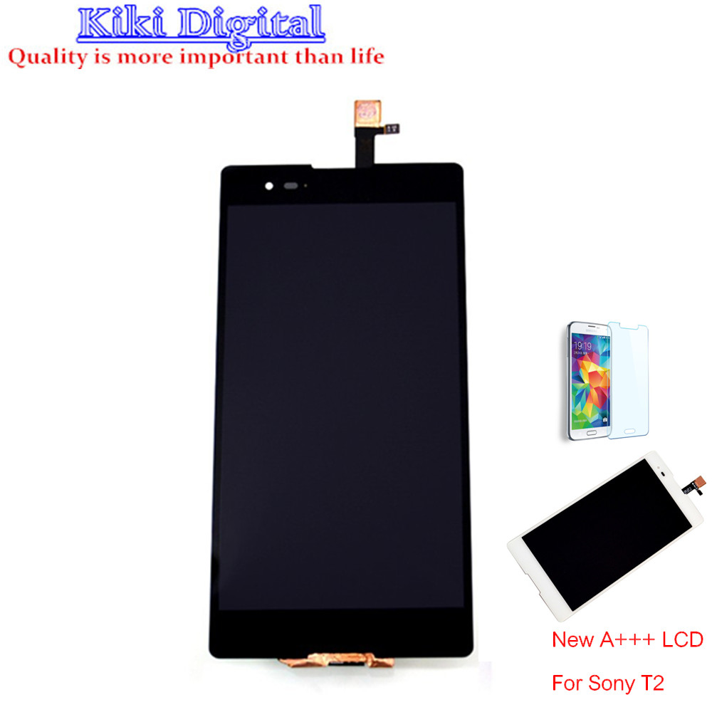 Original LCD Sony Xperia T2 Ultra D5303 D5306 XM50h Screen Display Digitizer Touch Glass Assembly film - Kiki Digital store