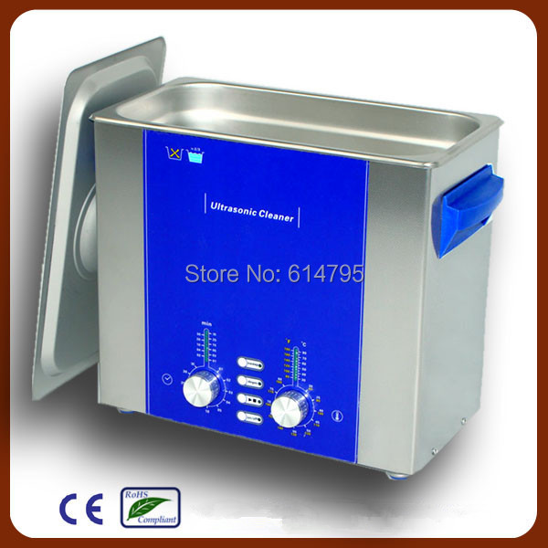 Free basket Derui Dental ultrasonic cleaner 6L with degas sweep DR-DS60(China (Mainland))
