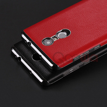 New arrival Top Quality soft leather back case For Xiaomi Redmi Note 3 Mobile Phone back cover for redmi note3 in stock(China (Mainland))
