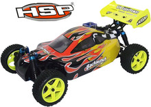 HSP 1/10 Scale Models Nitro Power 4wd Rc Car Off Road Buggy 94166 Pivot Ball Suspension Two Speed Hobby Remote Control Car(China (Mainland))
