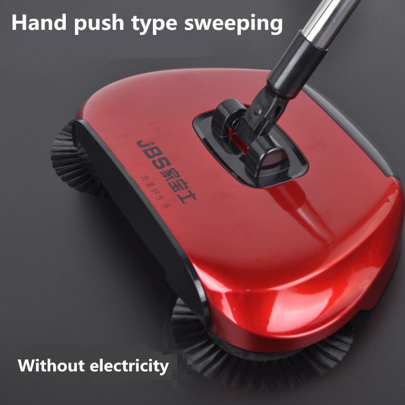 hand push type sweeping machine manual cleaning machine broom broom and dustpan mop cleaner(China (Mainland))