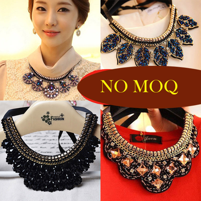 2015 new fashion choer pendent statement necklace fake false collar jewelry set military necklace women  charms collier femme <br><br>Aliexpress