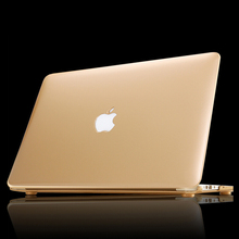 2015 notebook sleeve laptop case Frosted matte gold pro 13 15 air 11 13 retina 13 15 protective shell for macbook+ Free keyboard