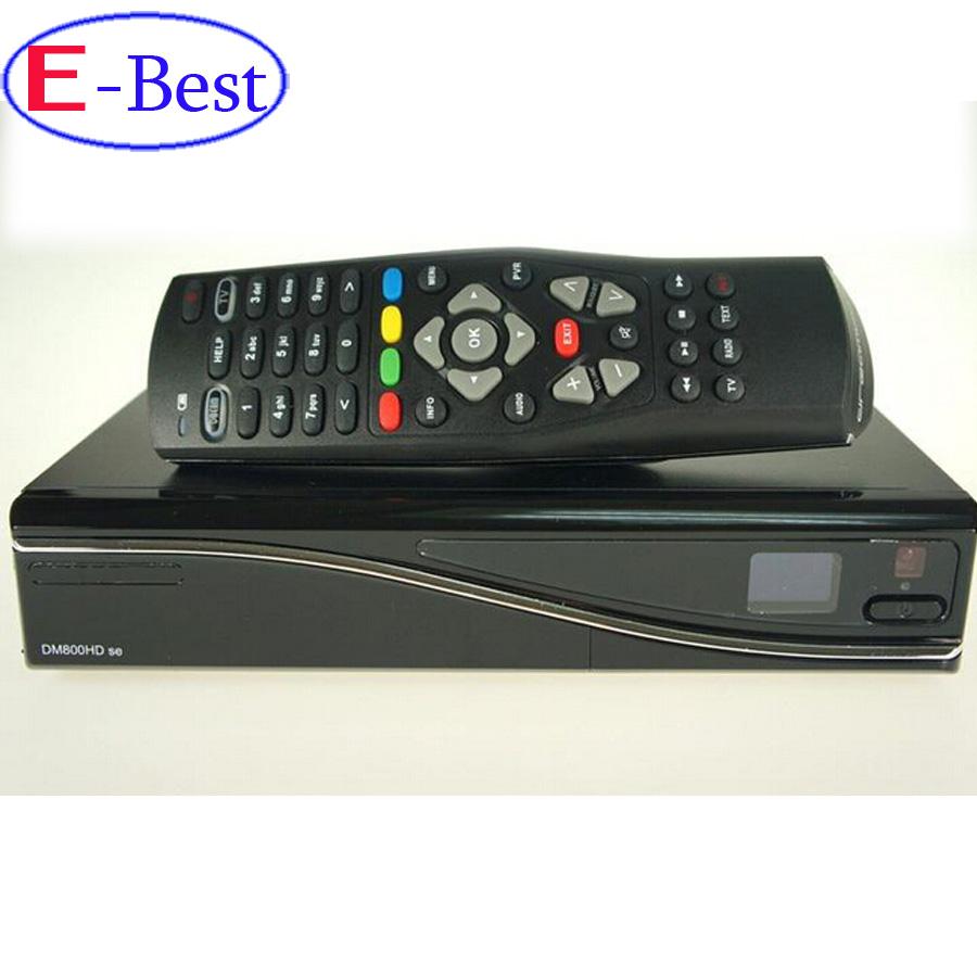 2pc/lot DM800se V2 Satellite TV Receiver DM800HD se V2 SIM2.20 1GB Flash 521MB RAM HbbTV and Web browser Enigma 2 Linux OS(China (Mainland))
