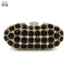 Buy XI YUAN BRAND fashion Shoulder Bags Crossbody Women Clutches Ladies Evening Bag Party Day Clutches Purses Handbag black for $186.00 in AliExpress store