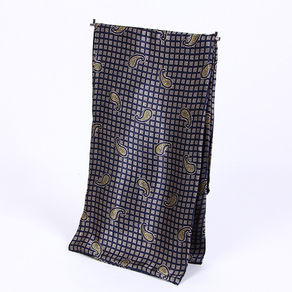 Paisley print cravat silk Scarf,Mod UK Scarf ,Tonal Silky Satin Scarf,Retro 60s Mens Soft Scooter Scarf,men's MOD neckerchief(China (Mainland))