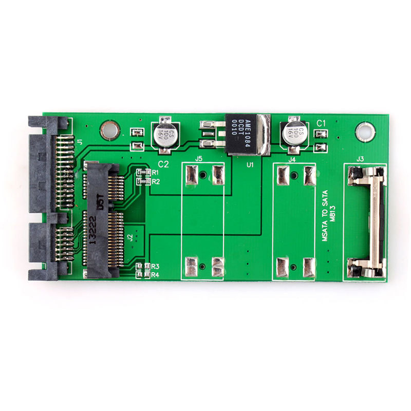 New 70mm Small board mSATA SSD to 2.5 SATA Drive Converter Adapter #55343(China (Mainland))