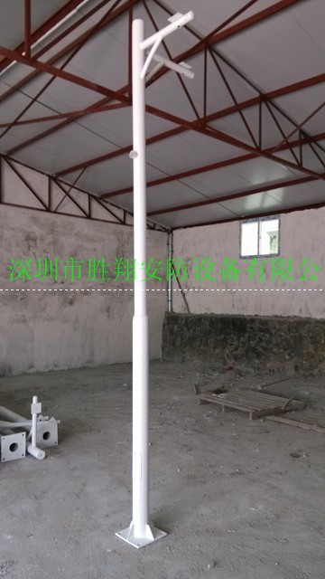 3 m cell 35 m road 4 meters 5 meters 6 Mega Factories thick galvanized steel pole direct shot Guangxi(China (Mainland))