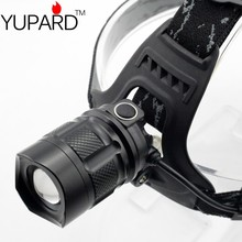 USB Headlamp XM-L2 LED T6 LED headlight Headlamp high power power bank output USB charging rechargeable 18650 lithium batteries