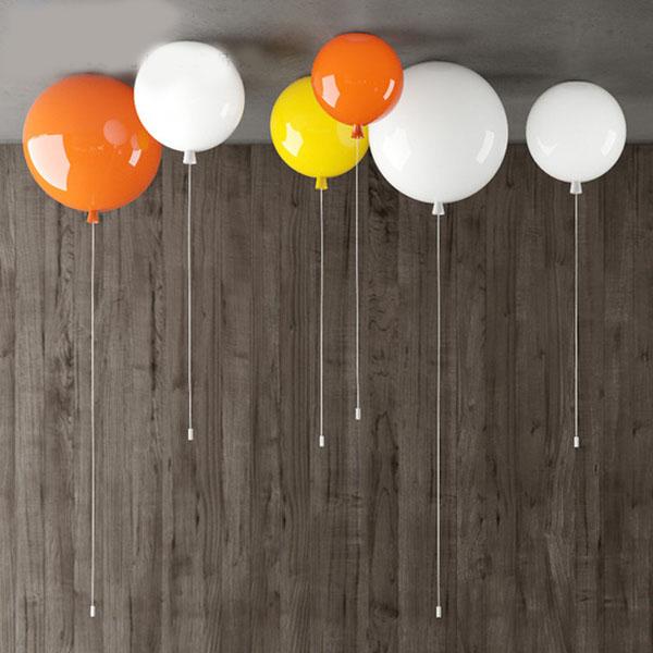online kaufen gro handel ballon deckenleuchte aus china. Black Bedroom Furniture Sets. Home Design Ideas