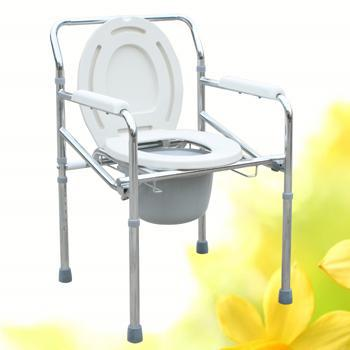 Wholesale Medical Commode Wheelchair Medical Folding Commode Chairs Health Care Rehabilitation Products From Linda Liang LK8005(China (Mainland))