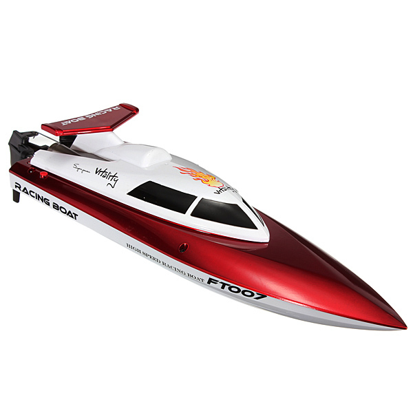 Free Shipping 100% Original hot sale Feilun FT007 4CH 2.4G Water Cooling High Speed Racing Remote Control RC Boat for kid toys(China (Mainland))