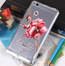 Buy xiaomi redmi 3 case Luxury fundas 3d stereo relief flower cover redmi 3 clear silicon back soft 5.0 inch hongmi 3 case redmi3 for $5.39 in AliExpress store